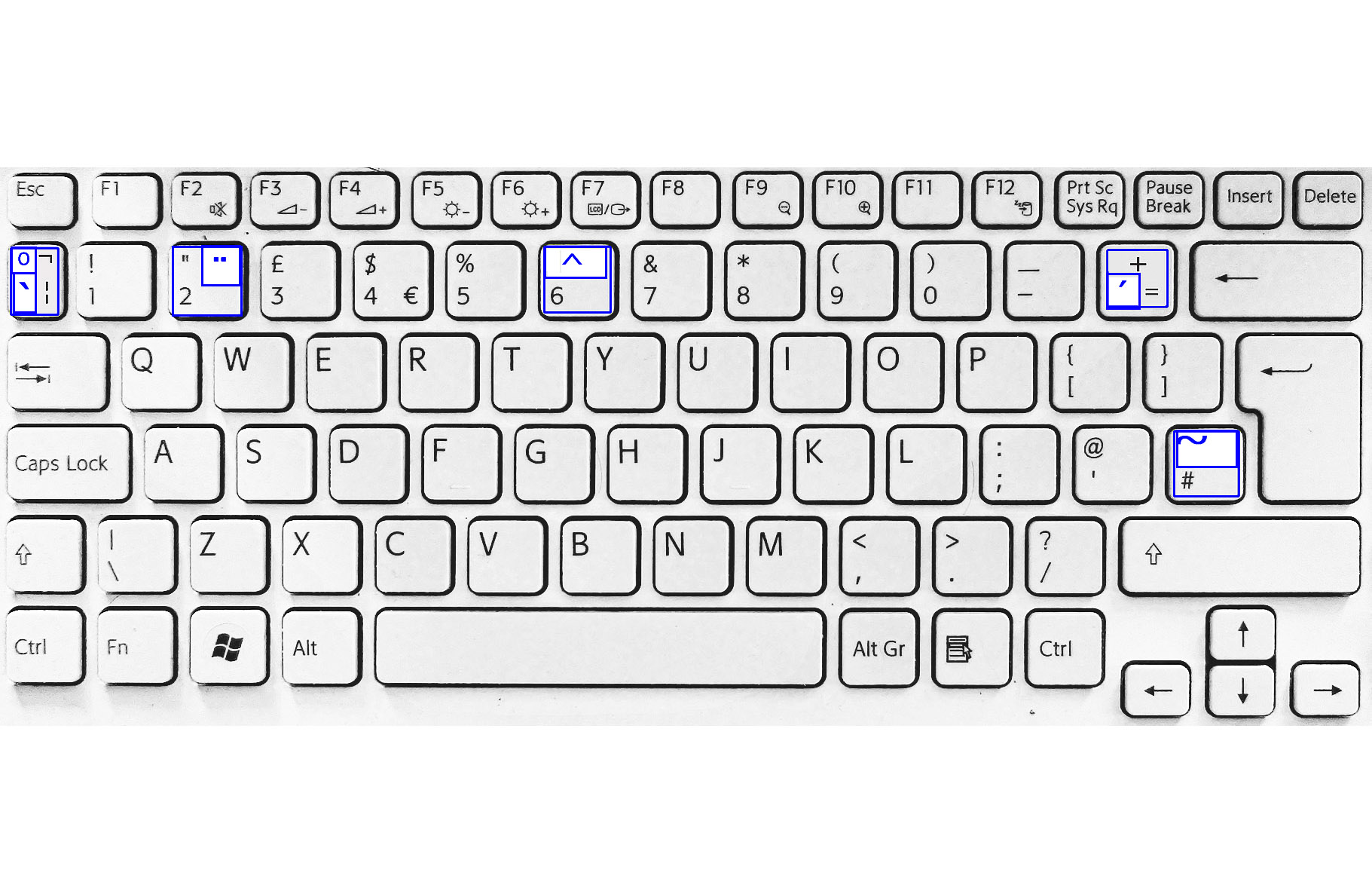 Taggs  Multilingual Keyboard - Map us keyboard to uk